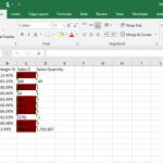 Qlik sense Dot Net SDK Excel download with color code