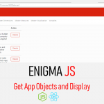 Qlik sense enigma js example - Get App Objects List