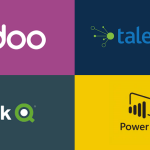 Odoo Power Bi, Qlik Sense with Talend