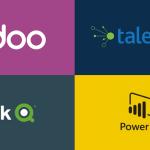 Odoo Power Bi, Qlik Sense with Talend
