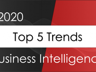 Top 5 BI trends for 2020